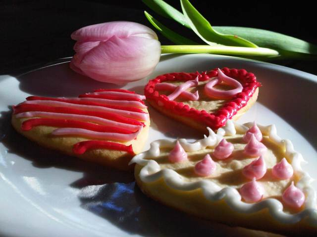 Valentines day cookies 021411