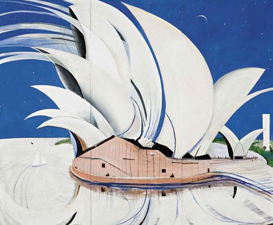 Opera House Painting Brett Whiteley