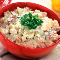 Ina Garten's New Potato Salad... easy and delicious!