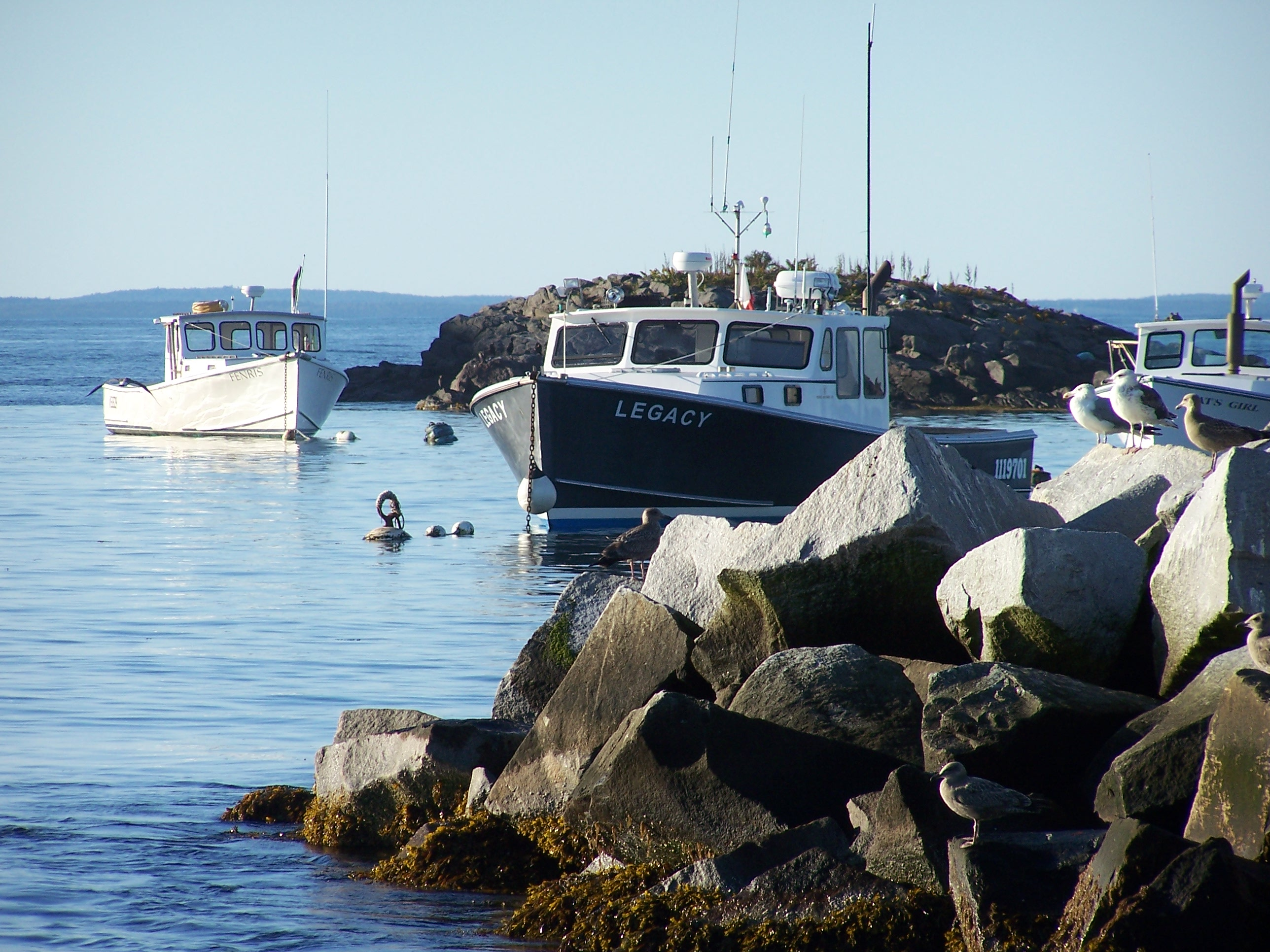 Lobster boat legacy of monhegan island me for Best time to visit maine for lobster