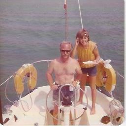 Barbara and her dad, Joe Fidler