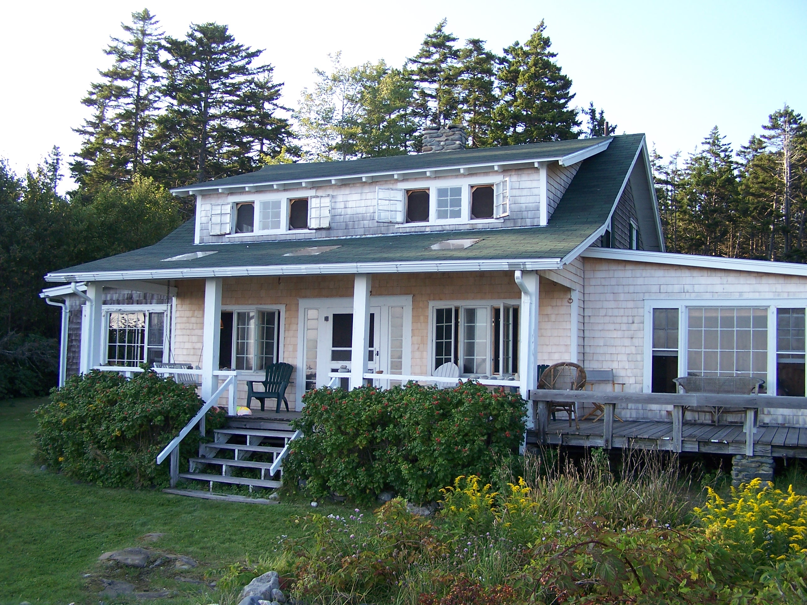 house maine rentals cottage beach cottages htm exterior view sea glass rental front photo in seaglass vacation of