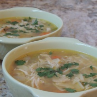 A Chicken Noodle Soup recipe... just like grandma's!