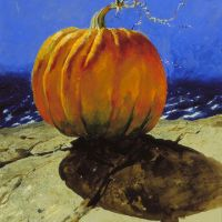 Pumpkinscape by Jamie Wyeth -