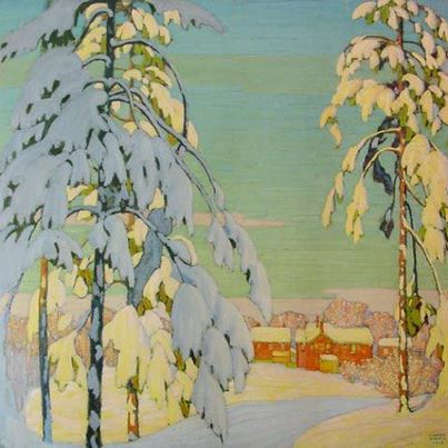 LawrenHarris SNOW CACfb