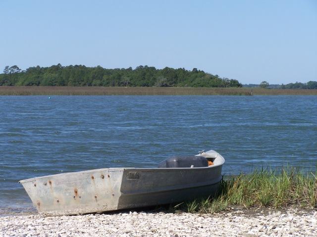 Boat at Bowen's Island...