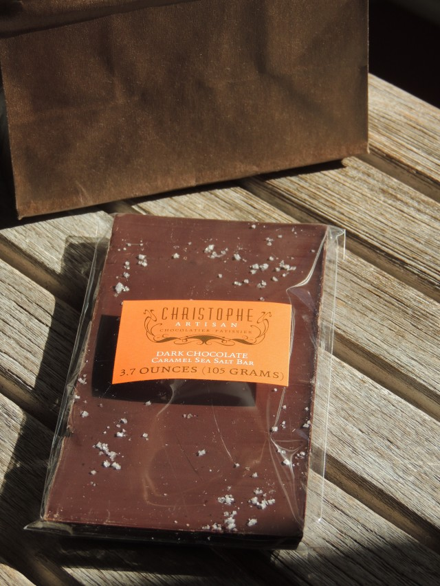 My chocolate bar...
