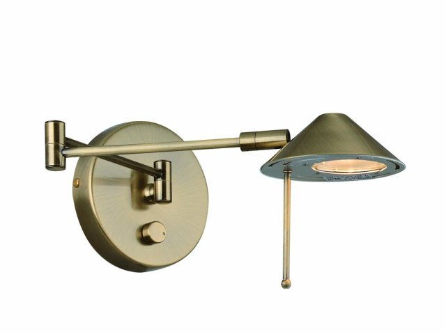 Lite Source LS-16350 Contemporary : Modern Swing Arm Wall Sconce from the Rhine Collection (litesourceinc)