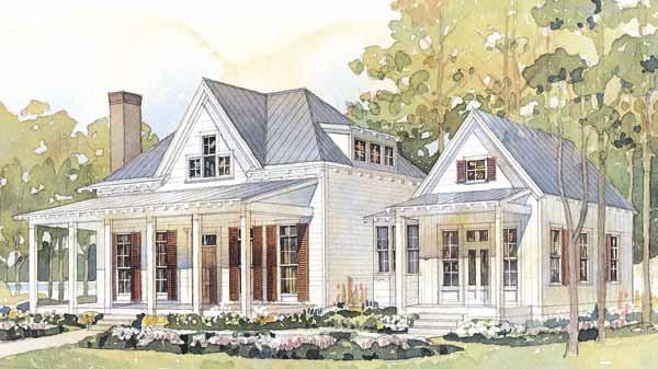 Introducing House Plan Thursday! Coastal Living House Plan Sl 593