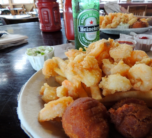 Fabulous Fried Shrimp!