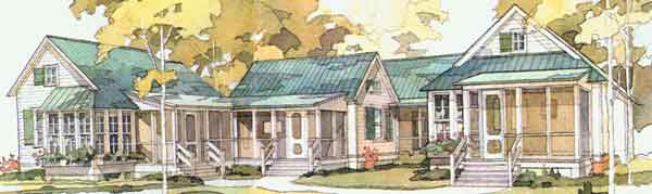 House Plan Thursday A Classy Commune Coastal Living plan SL 358