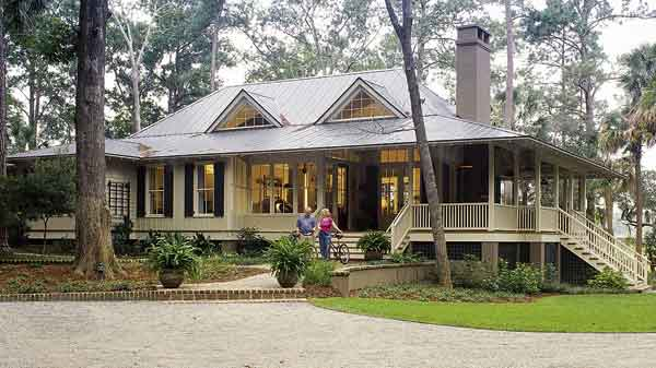 House plan thursday southern living tideland haven sl for Louisiana home plans designs