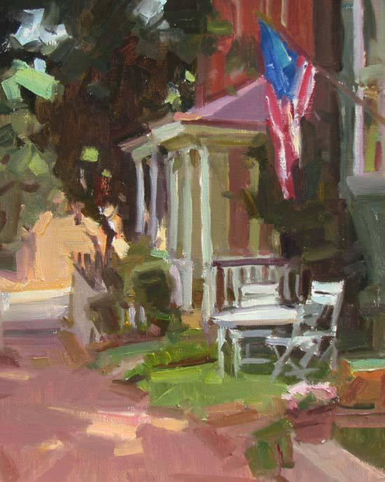JULY4 painting by KenDeWaard