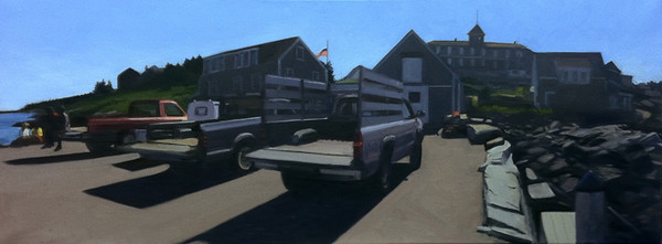 Kevin Beers Wharf with Trucks GFA