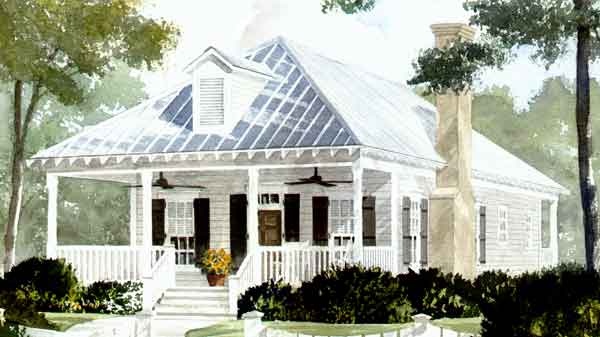 House plan thursday on wednesday this week holly grove for Low country house plans