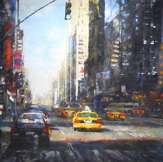 """""""Midtown Afternoon"""" by Mark Lague"""