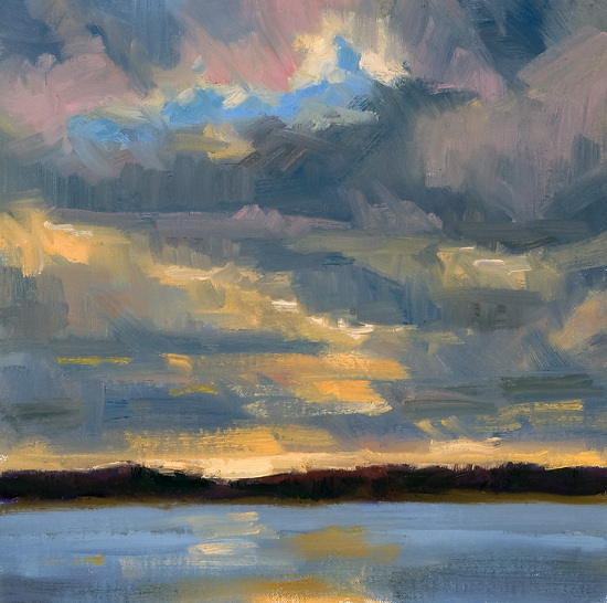 """Afternoon Cloud Break"" by Bob Rohm"