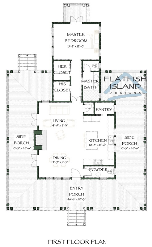HP NippersEscape plan FlatFishIslandDesigns.com