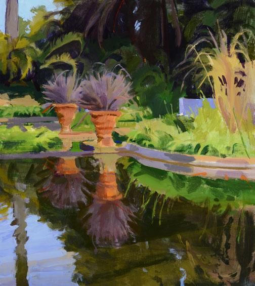 """""""Reflecting Pool"""" by Marcia Burtt"""