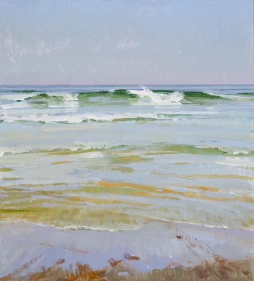"""""""Slack Tide, Haze"""" by Marcia Burtt"""