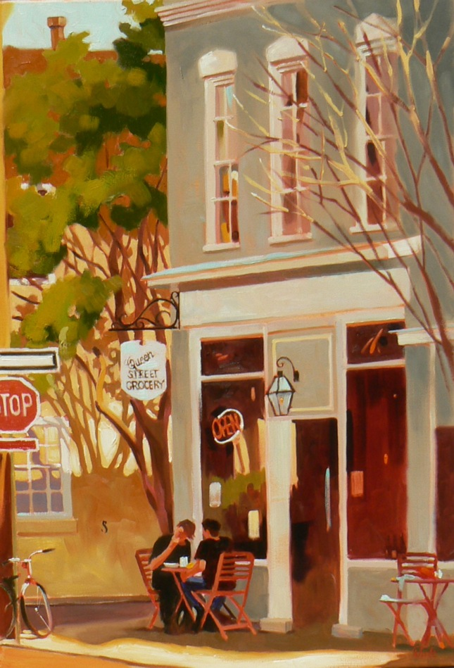 """Queen Street Grocery"" by Rhett Thurman"