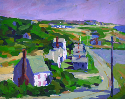 """Corn Hill"" by Robert Abele"