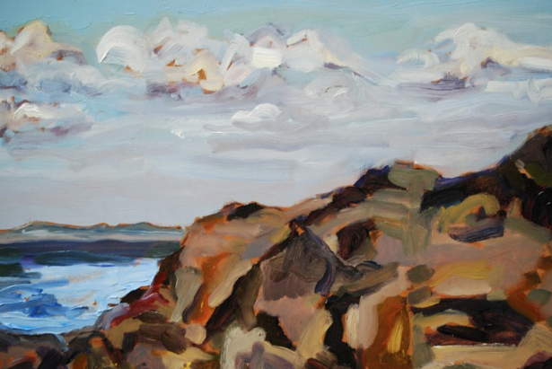 """Clouds and Rock"" by Michelle Hero Clarke"
