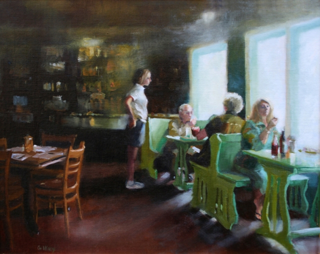 """""""The Cape Lunch"""" by Sue Gilkey [image]"""