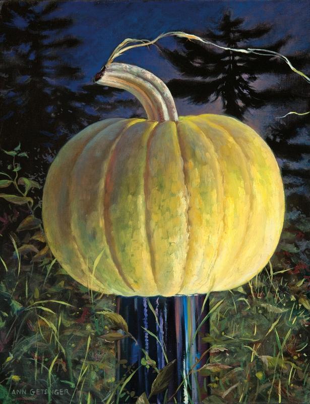 Ann Getsinger Library Pumpkin DowlingWalshGlry