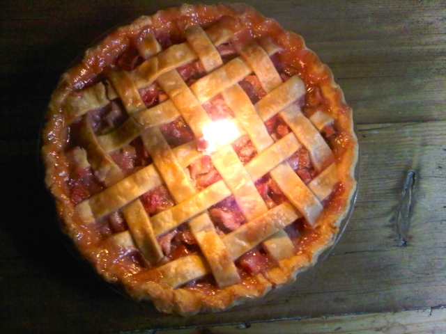 Best Rhubarb Pie Ever!