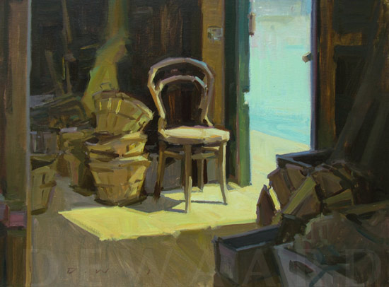 """A Waterman's Life"" by Ken DeWaard - won ARTISTS CHOICE AWARD at Plein Air Easton!"