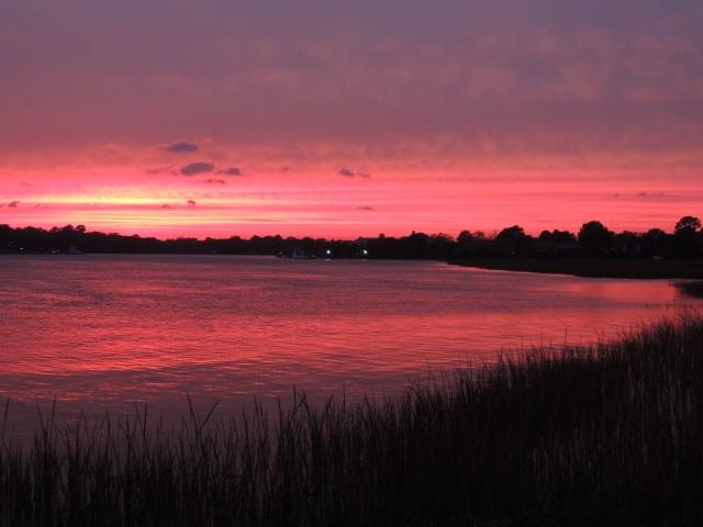 October sky... Charleston, SC