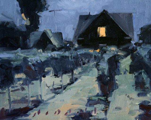 Vines at Night by Daniel Aldana