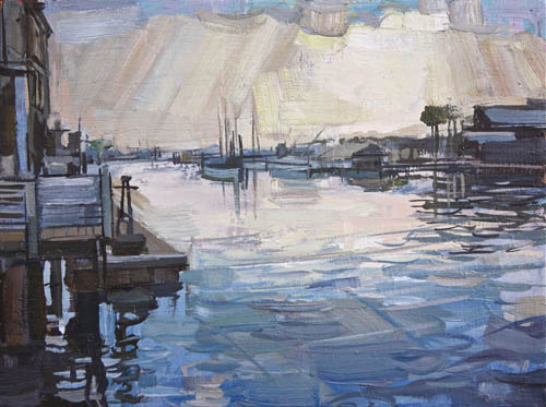 After the Rain (Shem Creek) by Francis Sills