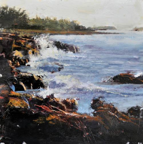 Rocky Shore by Mark Kelvin Horton