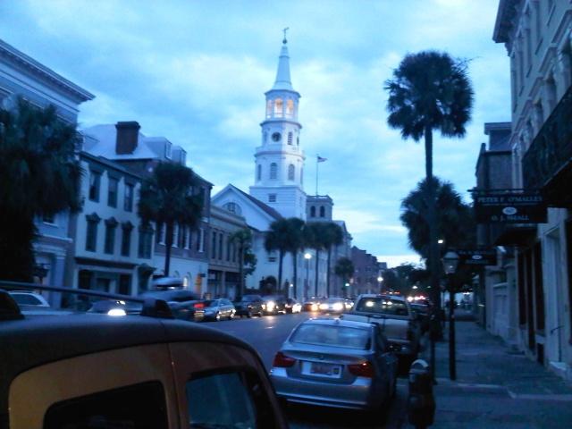 A view down Broad Street - Charleston, SC