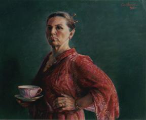 Critique - a self portrait by Judith Carducci