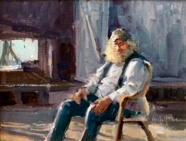The Old Fisherman by Dee Beard Dean