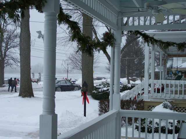 Porch in Michigan...