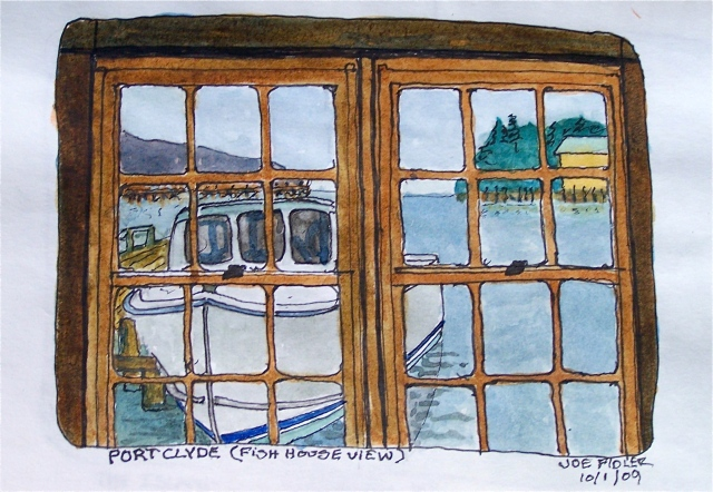 Port Clyde Fish House by Joe Fidler