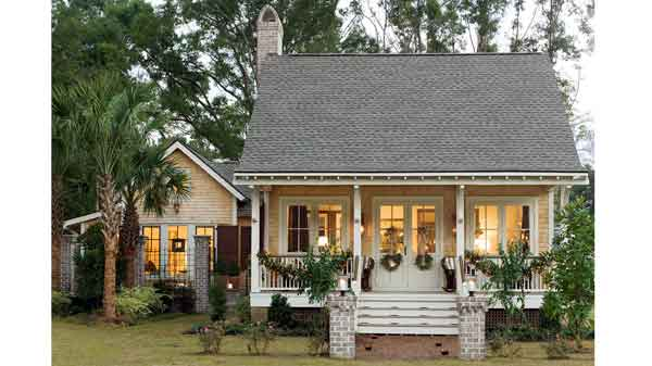 House plan port royal coastal cottage sl1414 southern for Southern living cottage floor plans