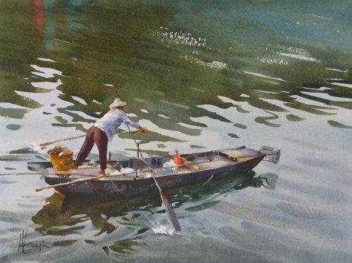 Andy Evansen - Plying the Pearl River