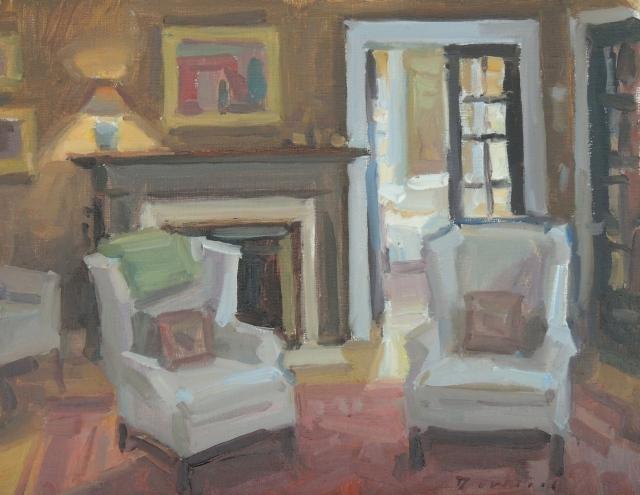 Painting by Ken DeWaard