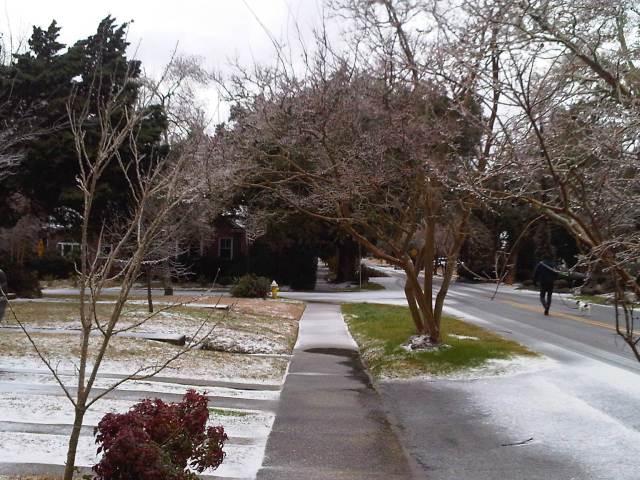 Winter Storm 2014 Charleston, SC
