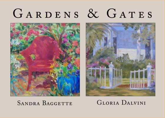 Gardens and Gates - image: Sandra Baggette's Garden Studio Gallery FB