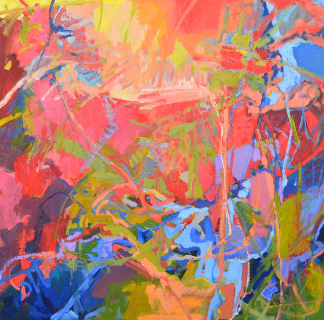 Coastal Landscape 1 (2014) by Dru Warmath Image: GalerieOnBroad.com