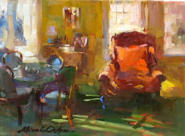 Liliana's Living Room by Aline Ordman