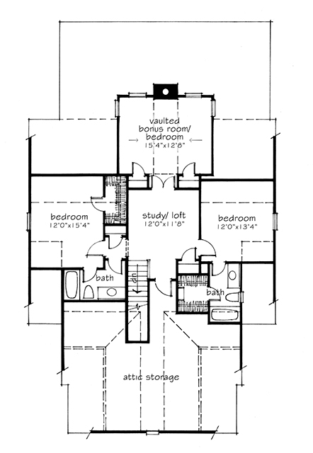 House Plan Dewy Rose Sl1842 By Southern Living House Plans Artfoodhome Com