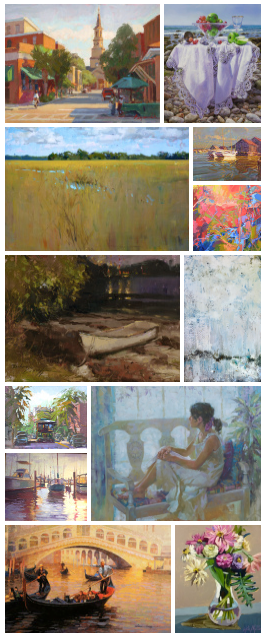 A sampling of artists at Galerie on Broad