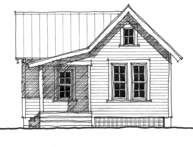 The Lafayette (C0049) House Plan by Allison Ramsey Architects